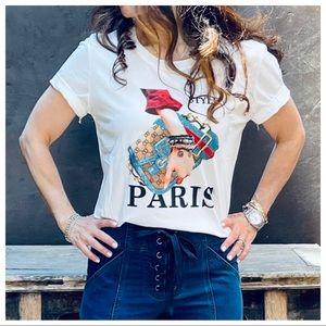 Paris Chic Stylish Graphic Tee